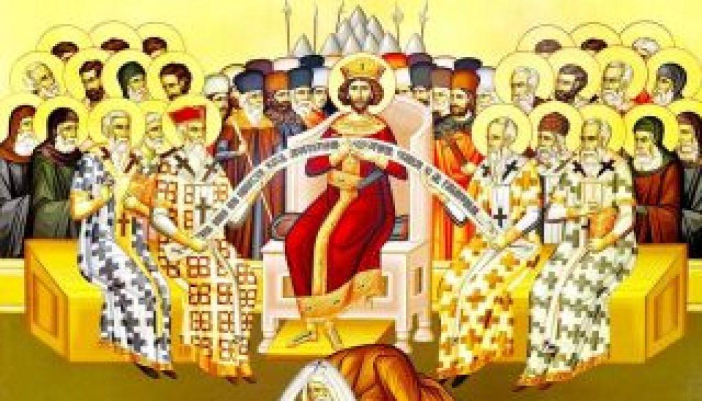 71631 primul sinod ecumenic mic