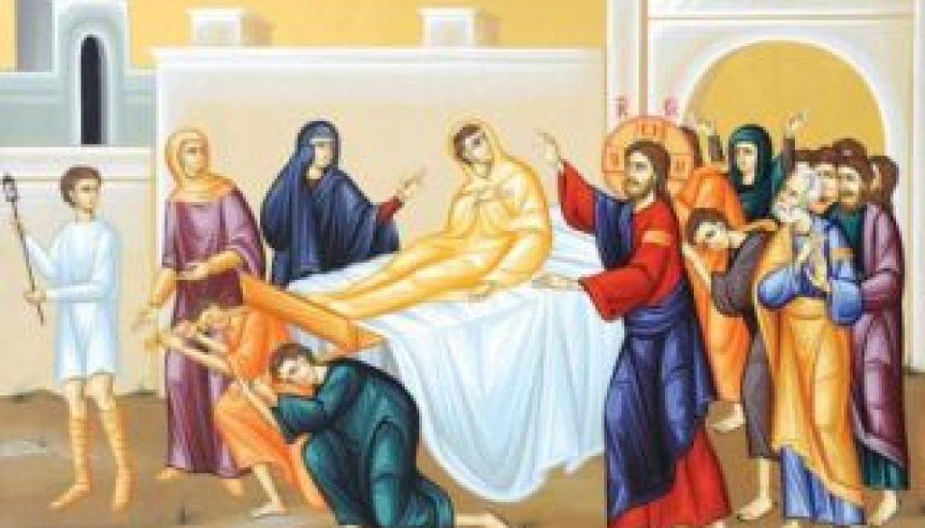 invierea fiului vaduvei din nain m