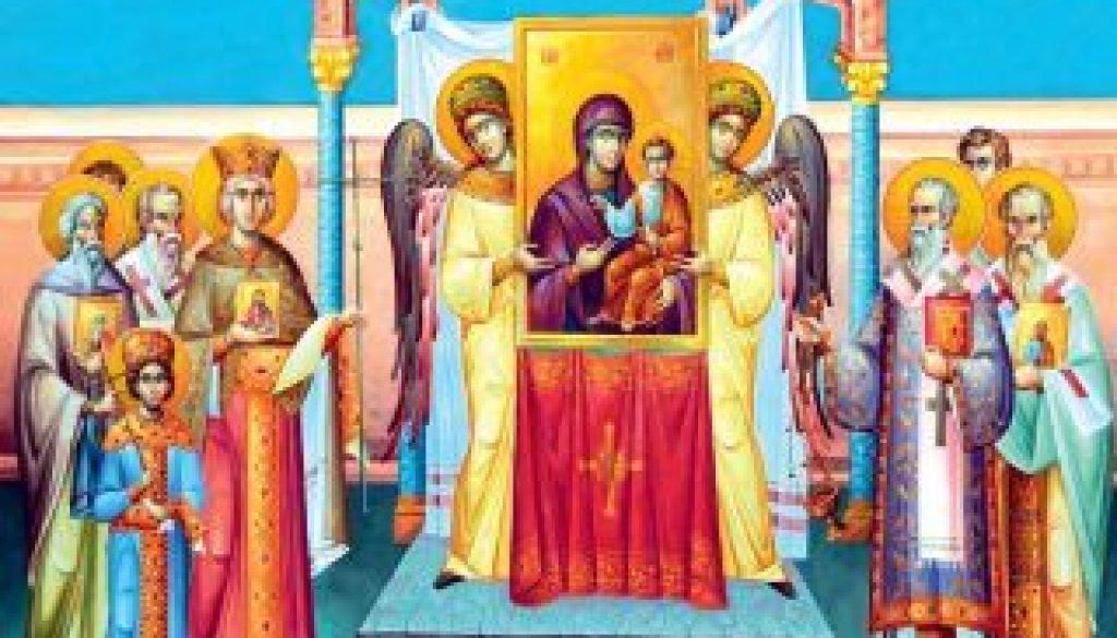 Pastorala Sfantului Sinod Duminica Ortodoxiei 2020 w